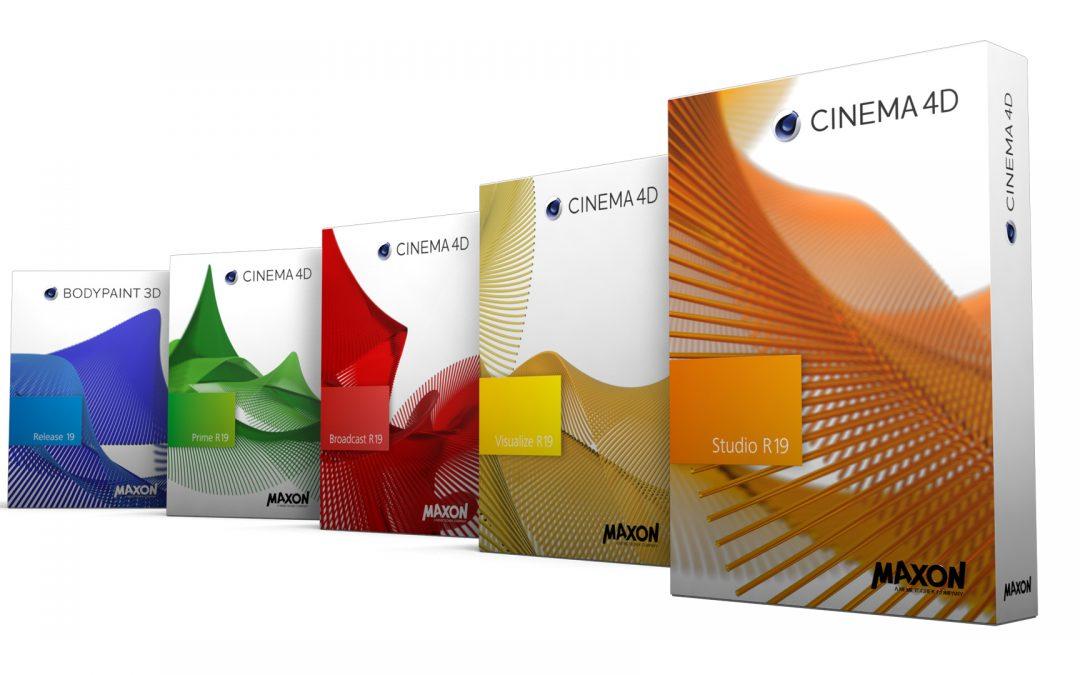 Cinema 4d R19 tutte le novità del software 3D della Maxon