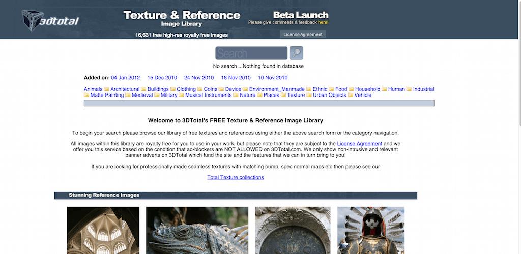 Texture free - le migliori risorse per il download di texture free (update Settembre 2017)