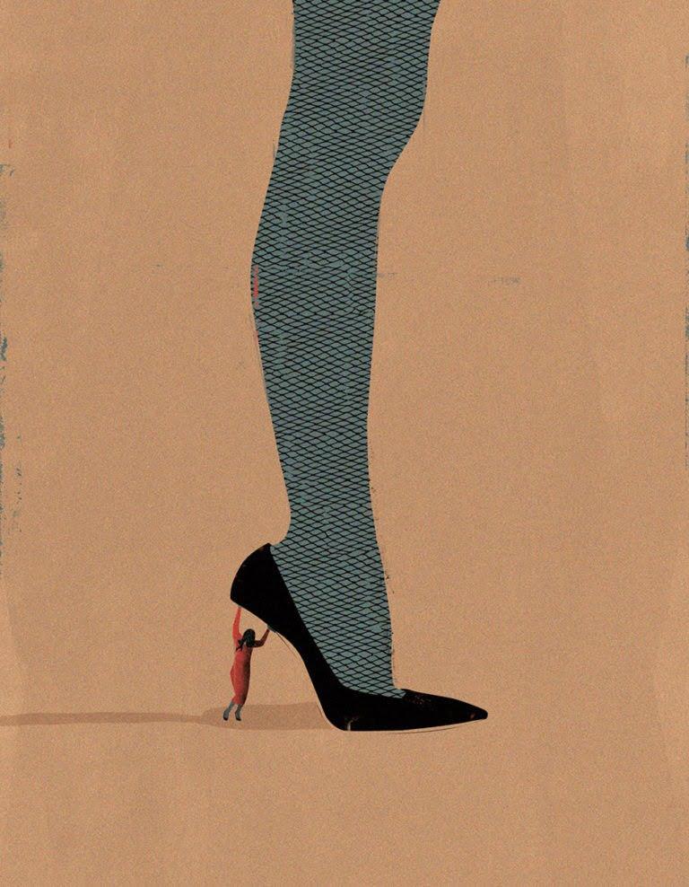 Illustrazioni minimaliste dell'artista Andrea Ucini 1
