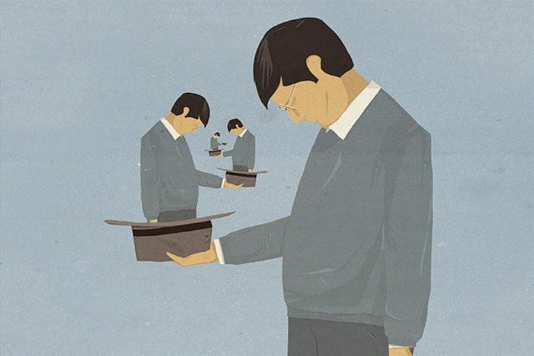 Illustrazioni minimaliste dell'artista Andrea Ucini 3