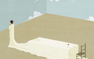 Illustrazioni minimaliste dell'artista Andrea Ucini