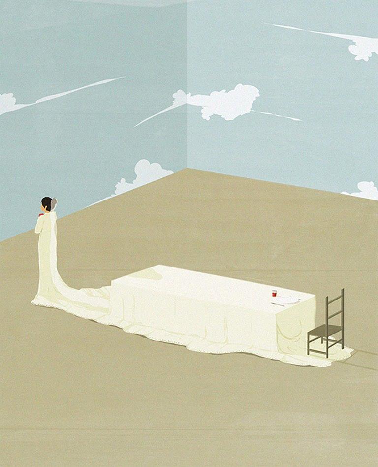 Illustrazioni minimaliste dell'artista Andrea Ucini 4