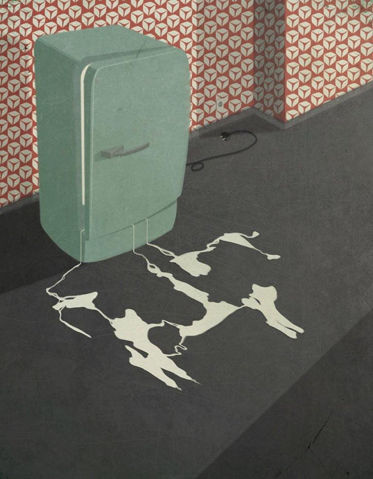 Illustrazioni minimaliste dell'artista Andrea Ucini 6