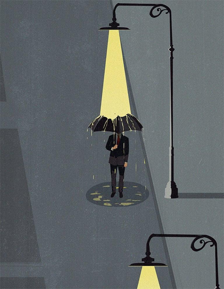 Illustrazioni minimaliste dell'artista Andrea Ucini 8