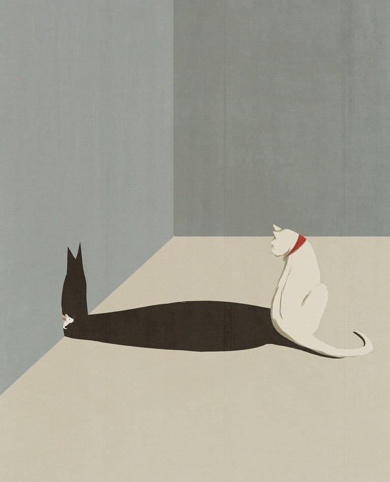 Illustrazioni minimaliste dell'artista Andrea Ucini 9