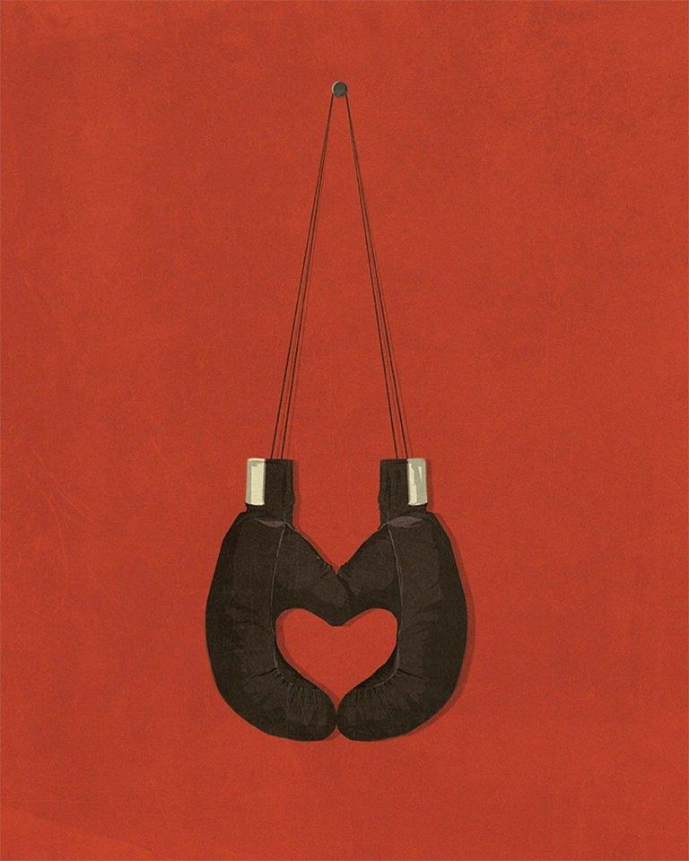 Illustrazioni minimaliste dell'artista Andrea Ucini 11