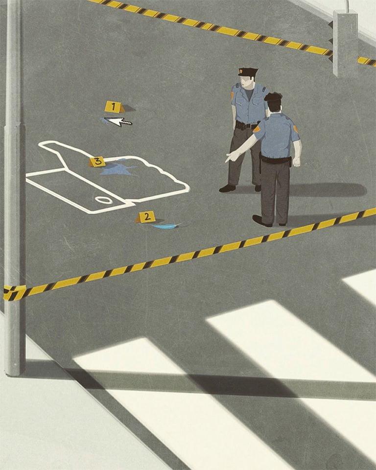 Illustrazioni minimaliste dell'artista Andrea Ucini 12