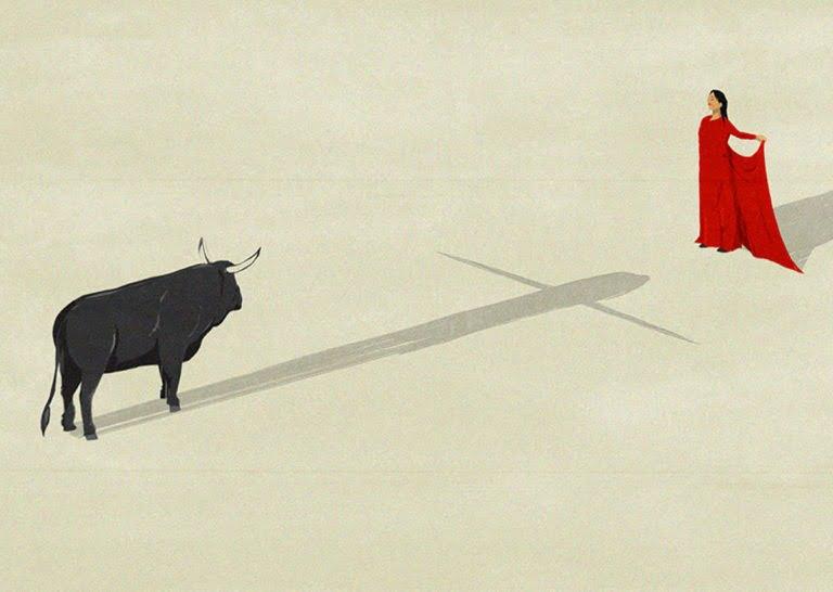 Illustrazioni minimaliste dell'artista Andrea Ucini 2