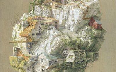 Gli artwork labirintici di Cinta Vidal