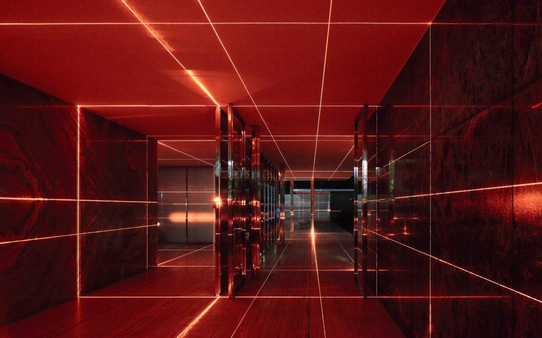 Geometria di luci. Un lavoro di Luftwerk